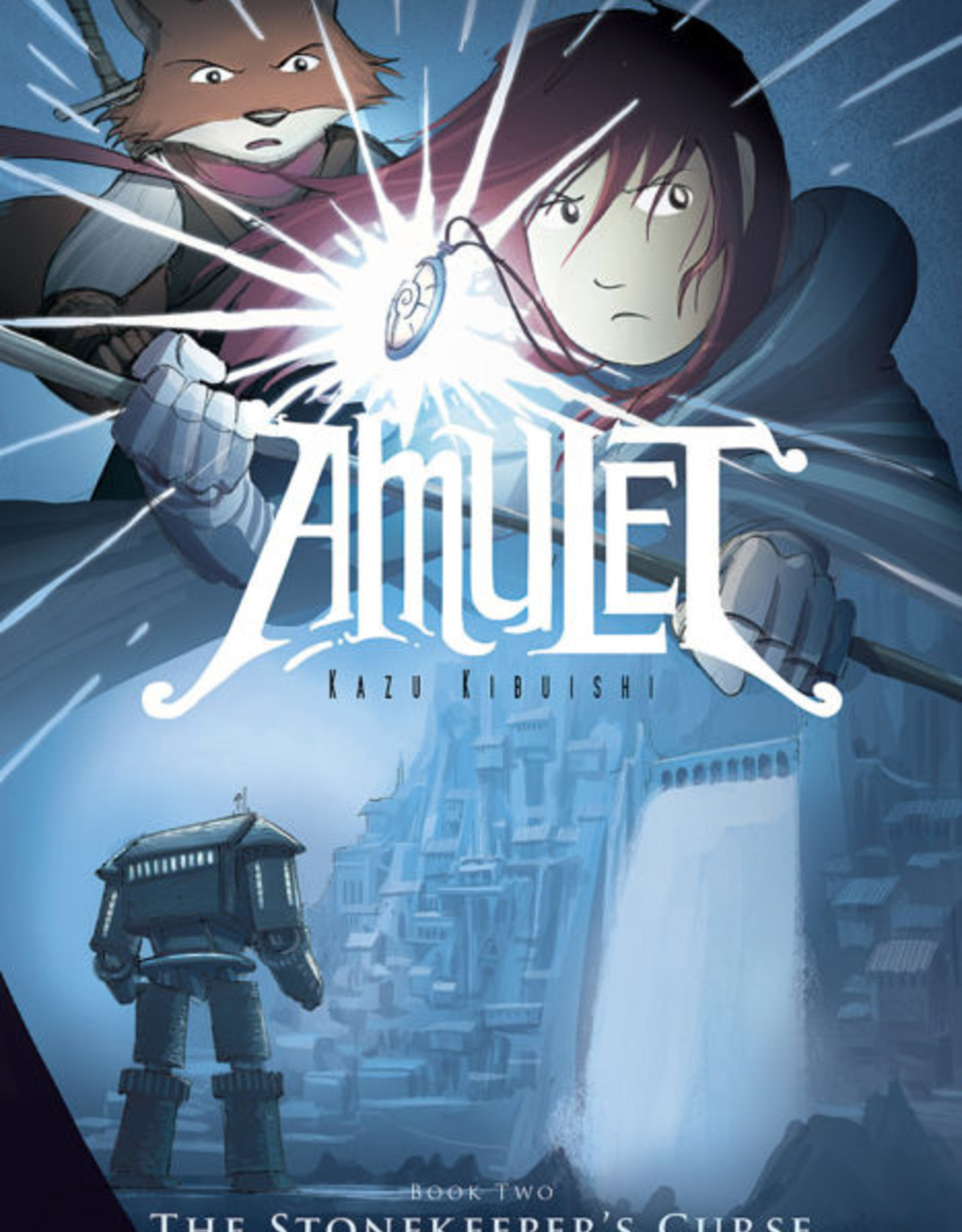 Scholastic Amulet #02, The Stonekeeper's Curse Graphic Novel - Paperback