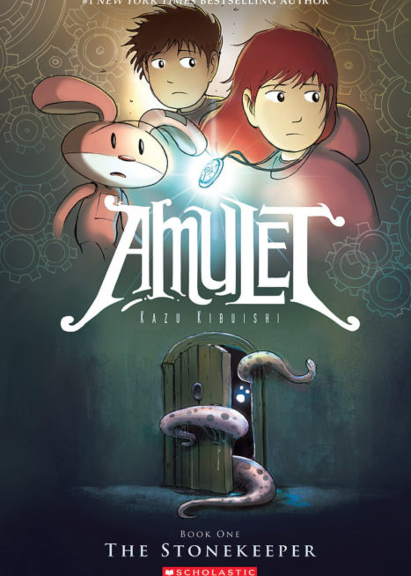 Scholastic Amulet #01, The Stonekeeper Graphic Novel - Paperback