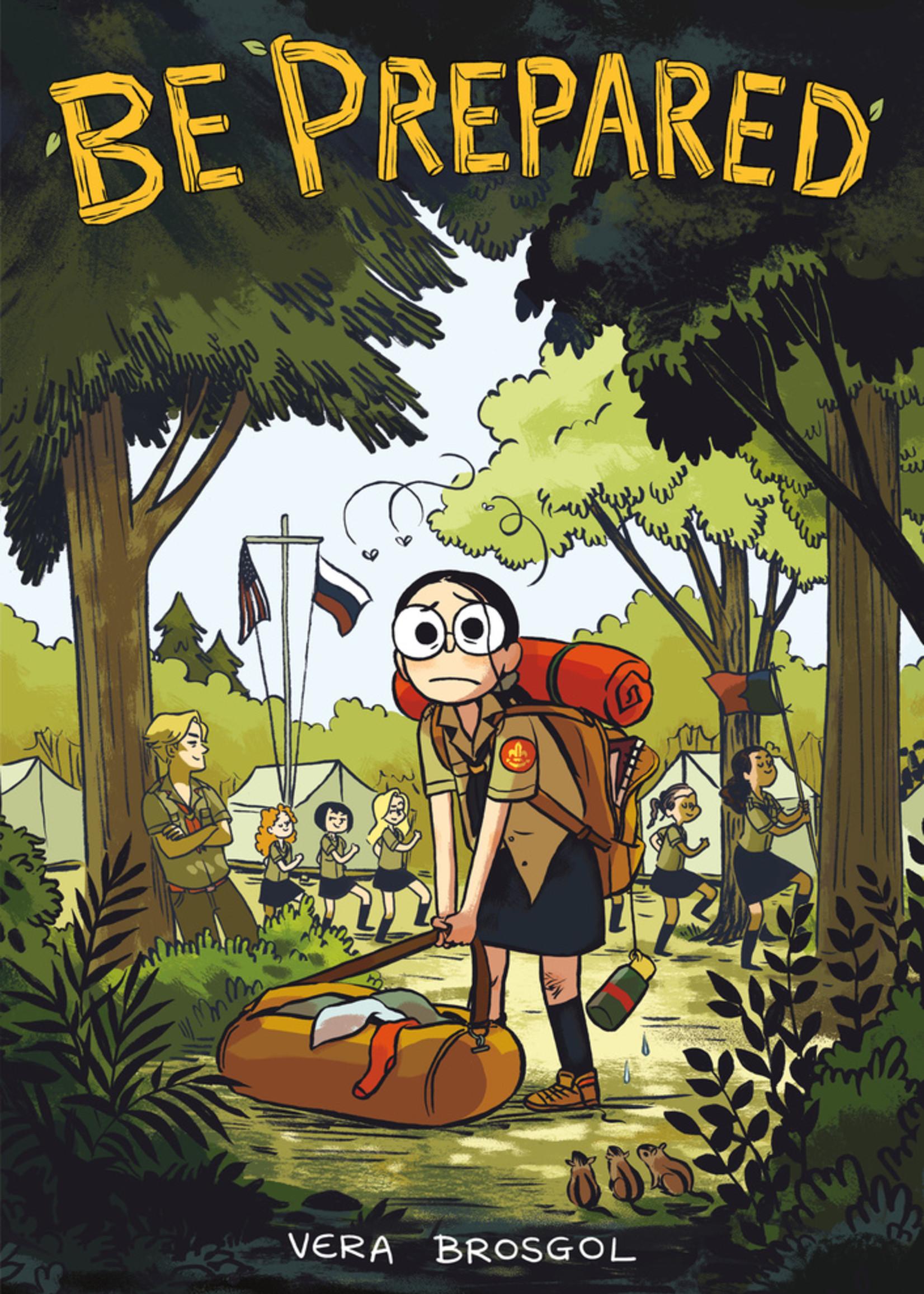 Be Prepared Graphic Novel - Paperback