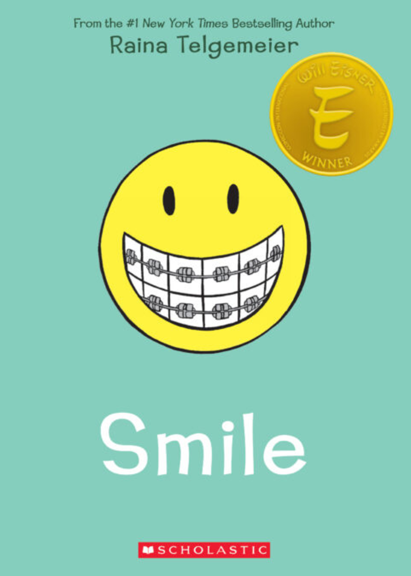 Scholastic Smile Graphic Novel - Paperback