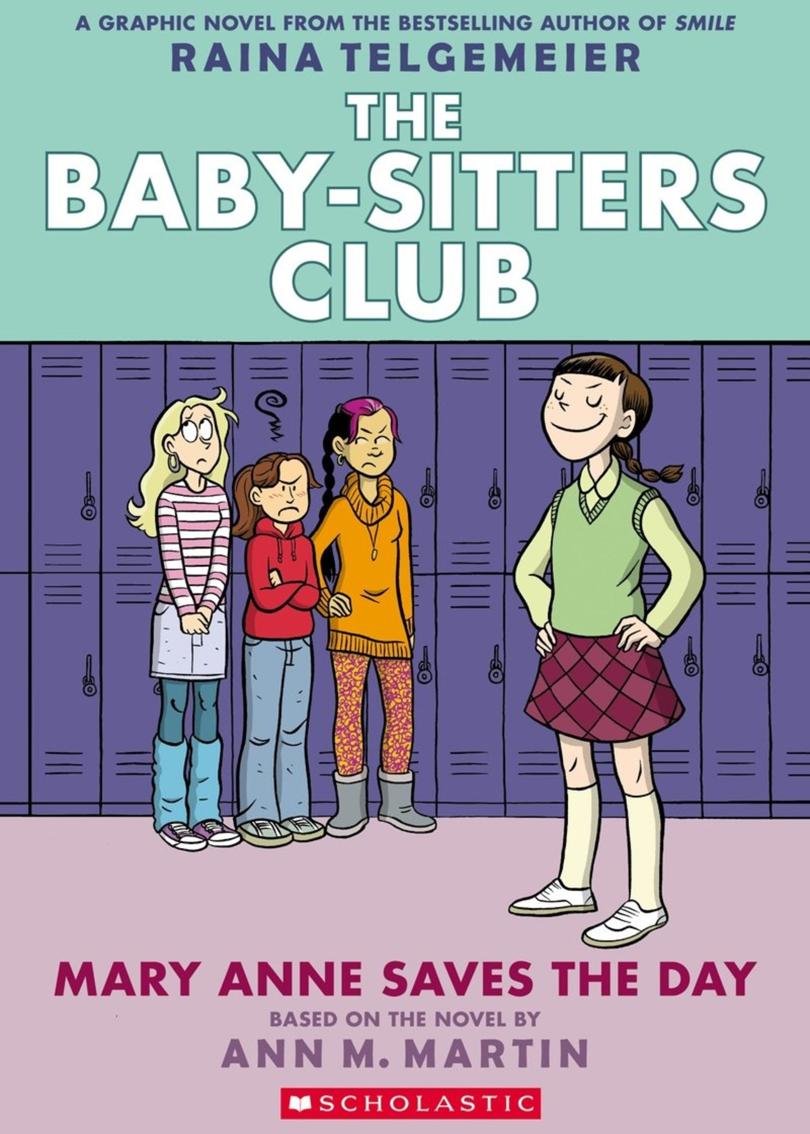 Baby-Sitters Club Graphic Novel #03, Mary Anne Saves the Day -Paperback