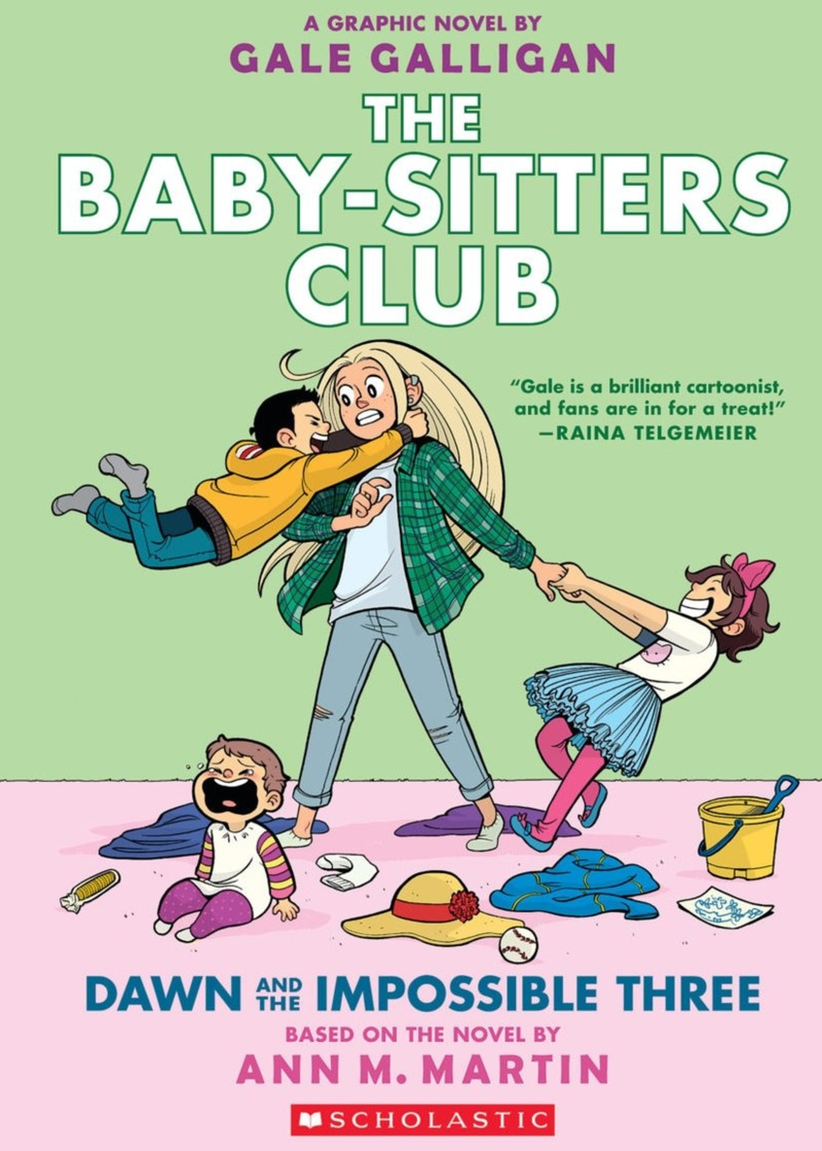 Baby-Sitters Club Graphic Novel #05, Dawn and the Impossible Three - Paperback