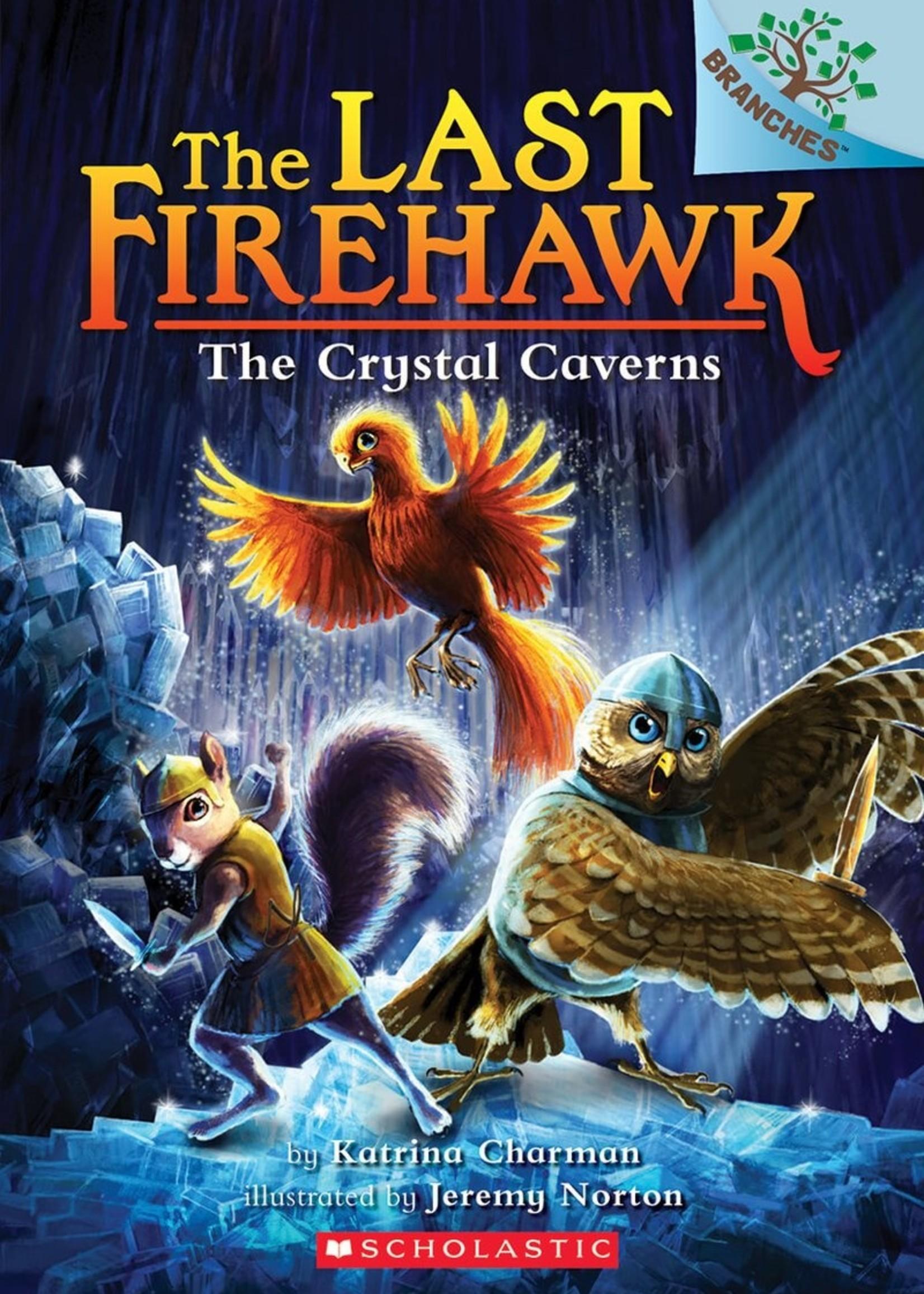 The Last Firehawk #02, The Crystal Caverns - Paperback