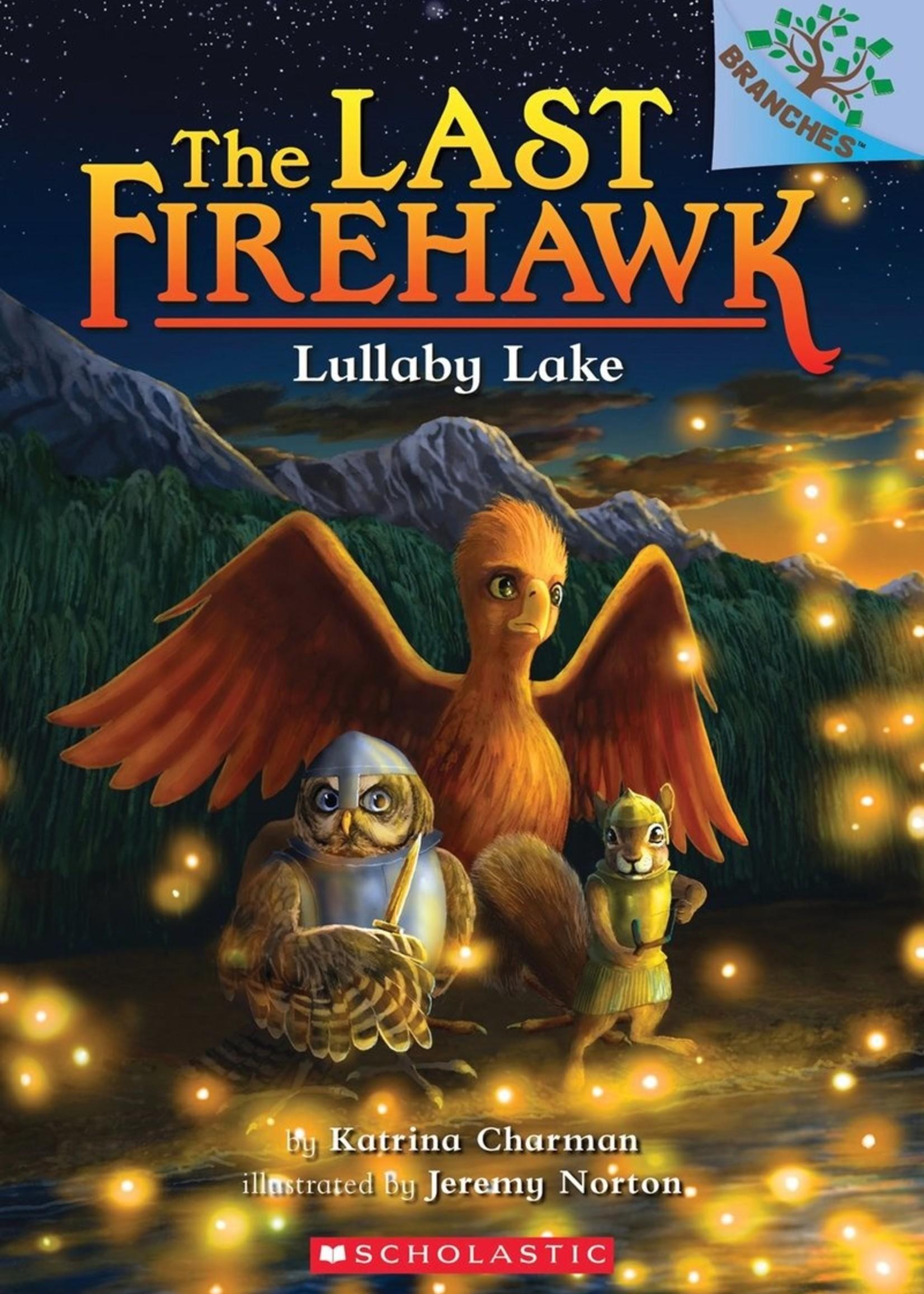 The Last Firehawk #04, Lullaby Lake - Paperback