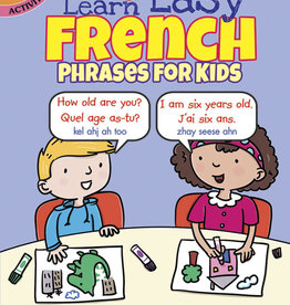Color & Learn Easy French Phrases for Kids - PB