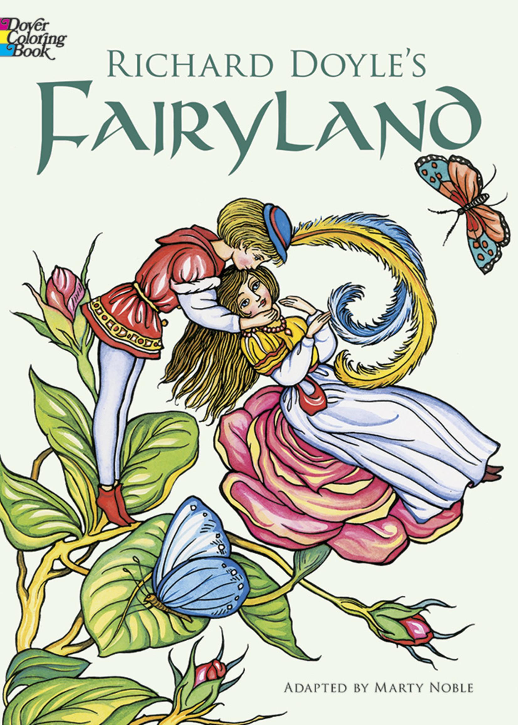 Richard Doyle's Fairyland Coloring Book - Paperback