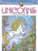 Creative Haven Unicorns Coloring Book - PB
