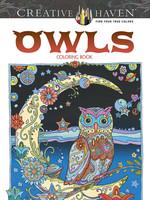 Creative Haven Owls Coloring Book - PB