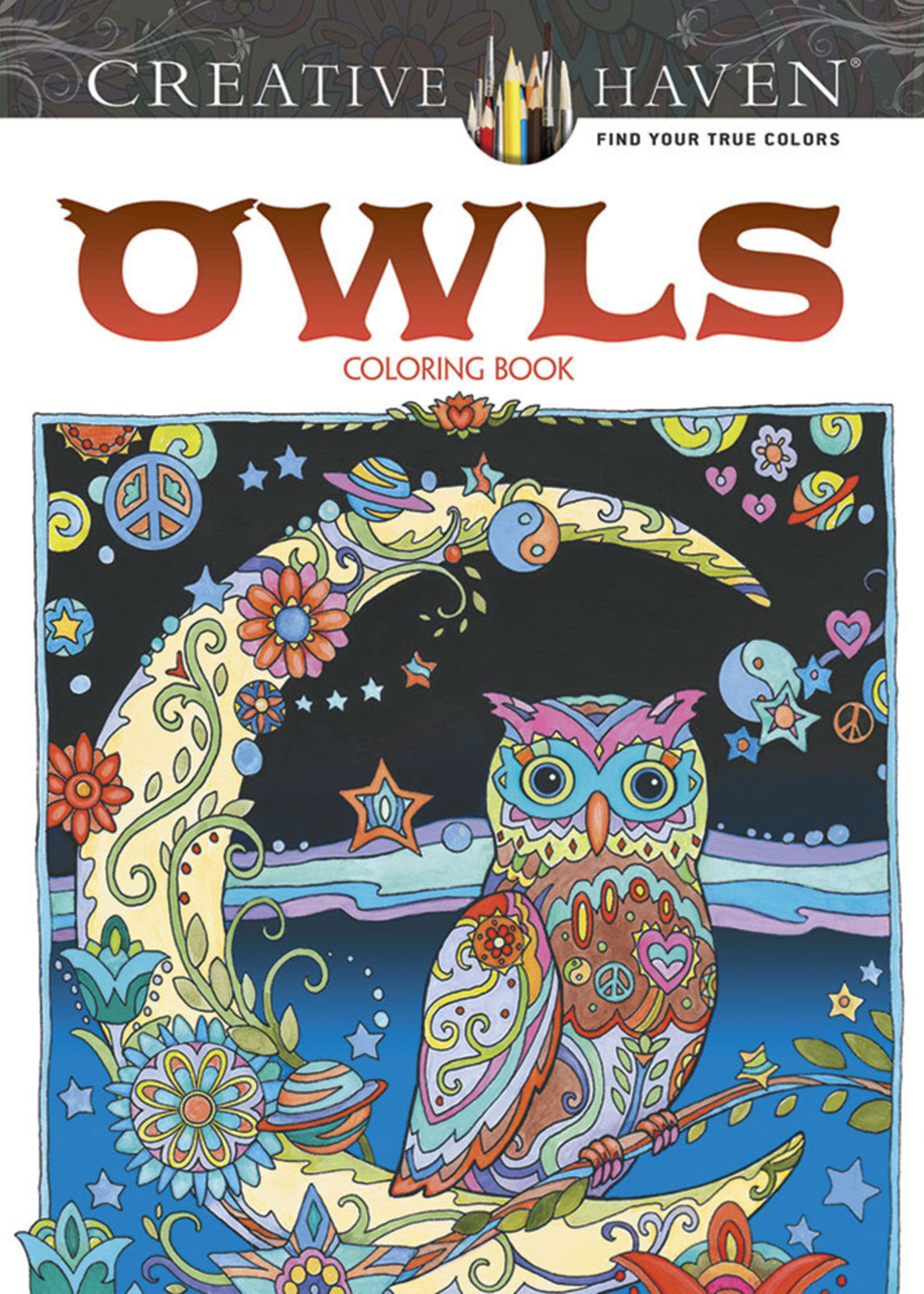 Creative Haven Owls Coloring Book - Paperback