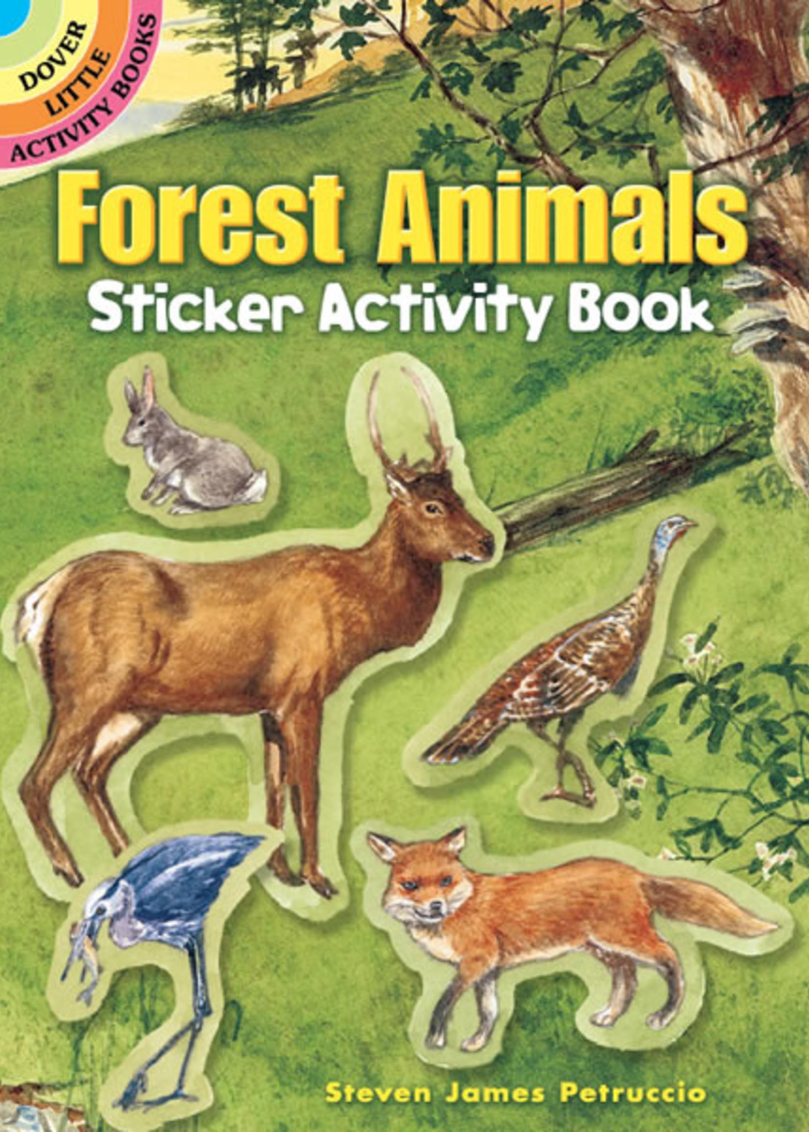 Forest Animals Sticker Activity Book