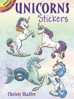 Dover Unicorn Stickers - PB