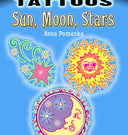 Glow-in-the-Dark Tattoos Sun, Moon, Stars