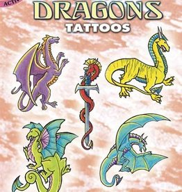 Mini Dragons Tattoos