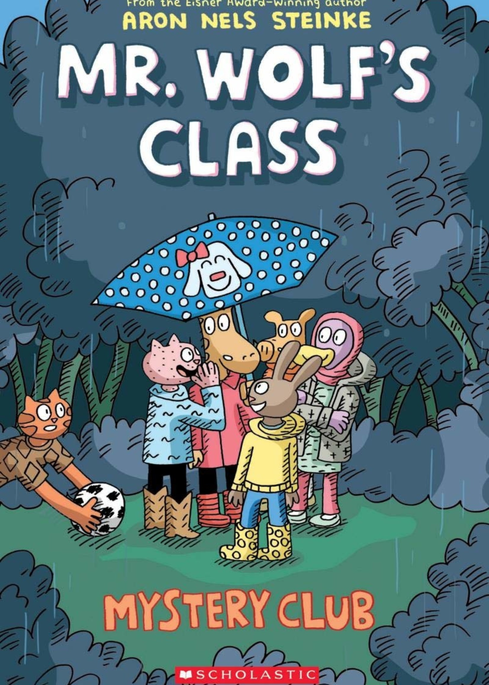 Mr. Wolf's Class #02, Mystery Club Graphic Novel - Paperback