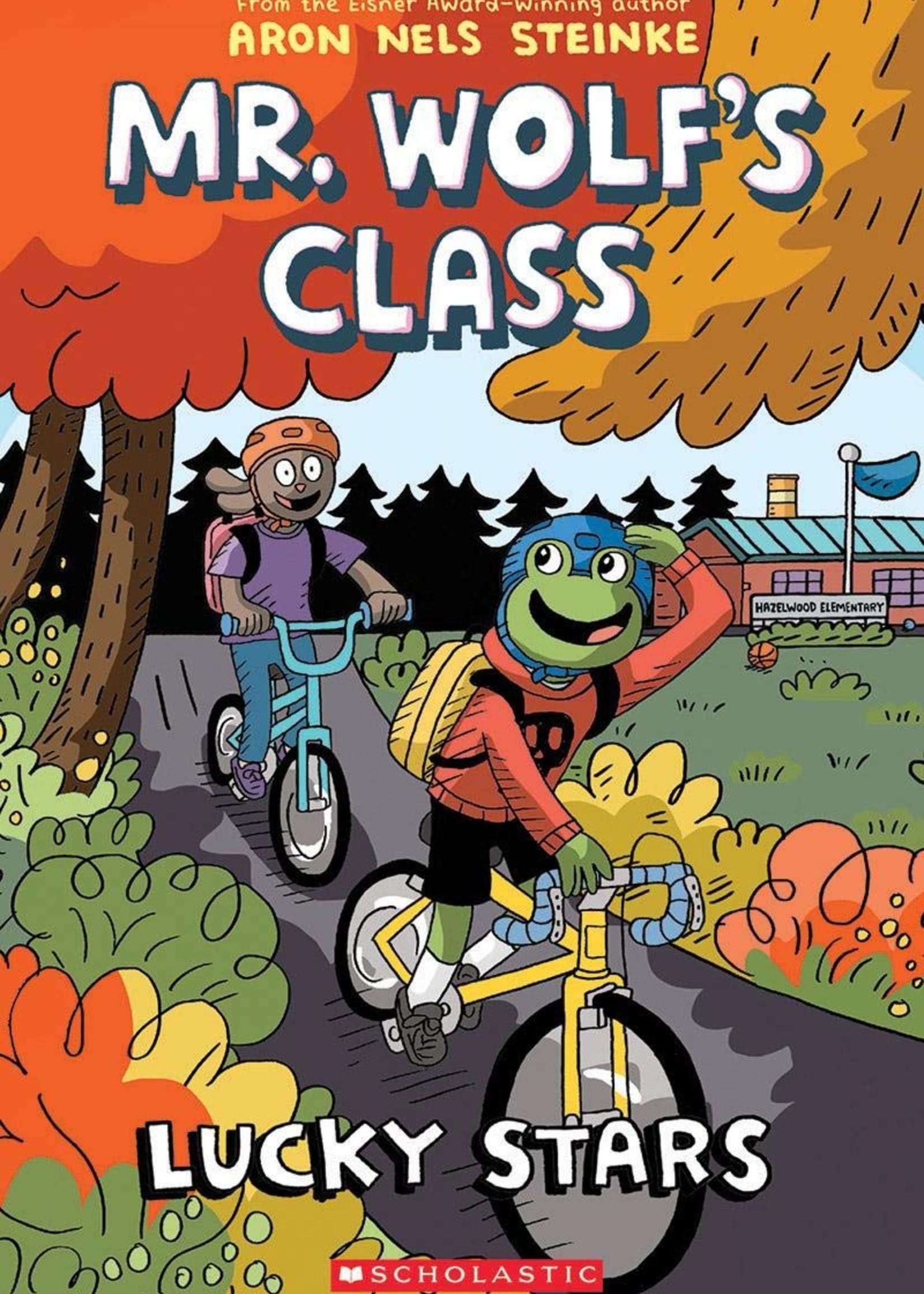 Mr. Wolf's Class #03, Lucky Stars Graphic Novel - Paperback