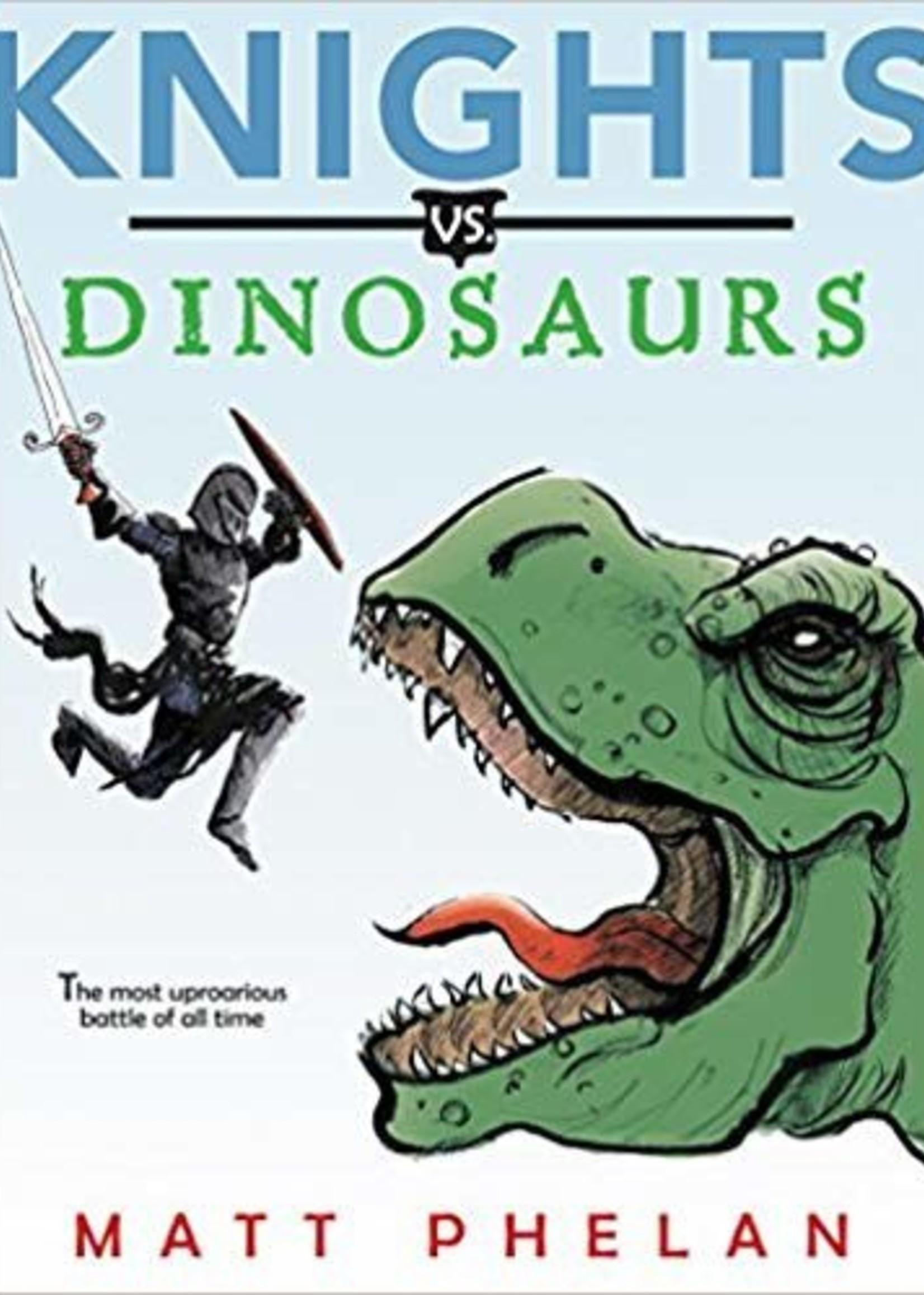 Knights vs. Dinosaurs - Paperback