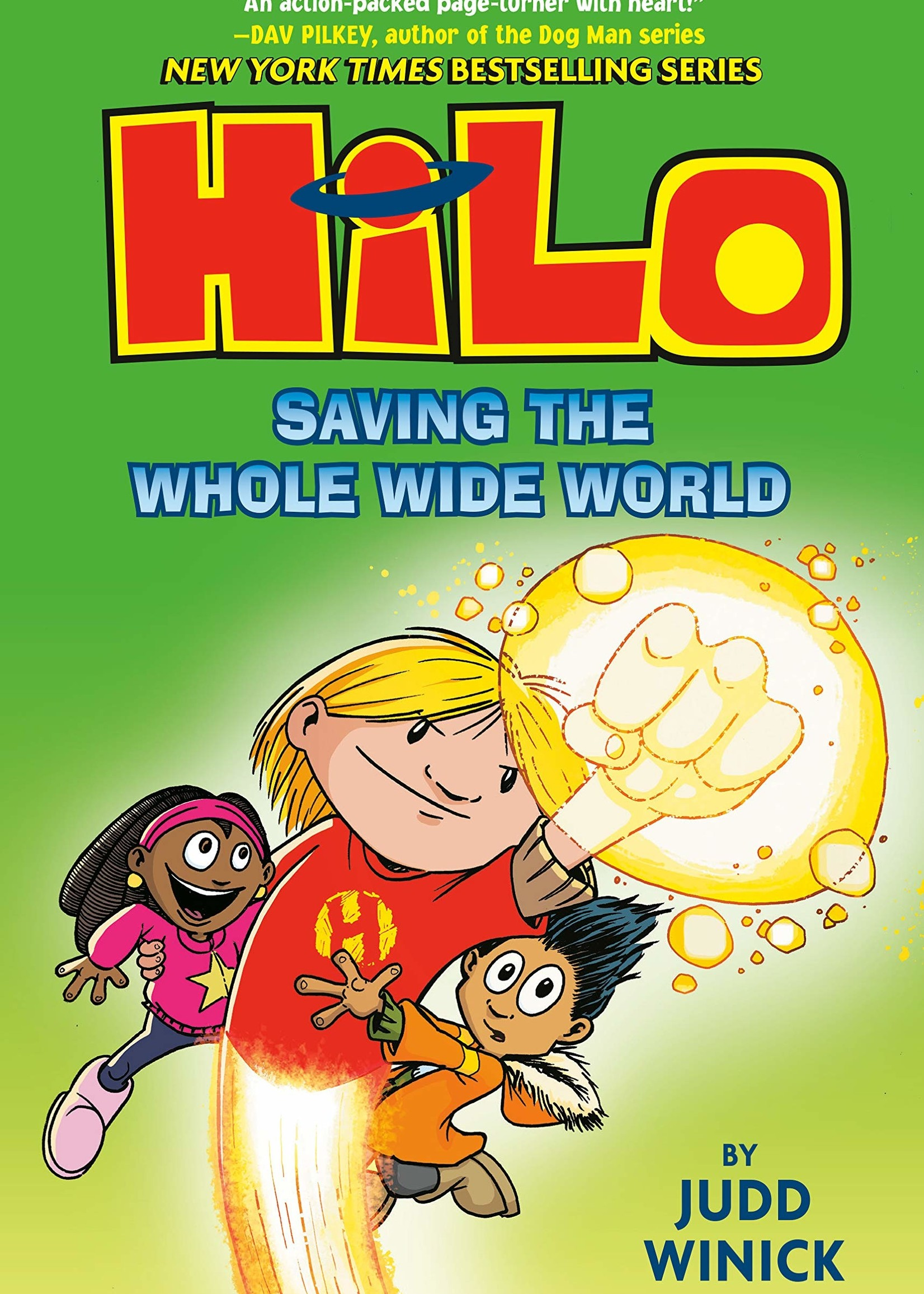 Hilo #02, Saving the Whole Wide World Graphic Novel - Hardcover
