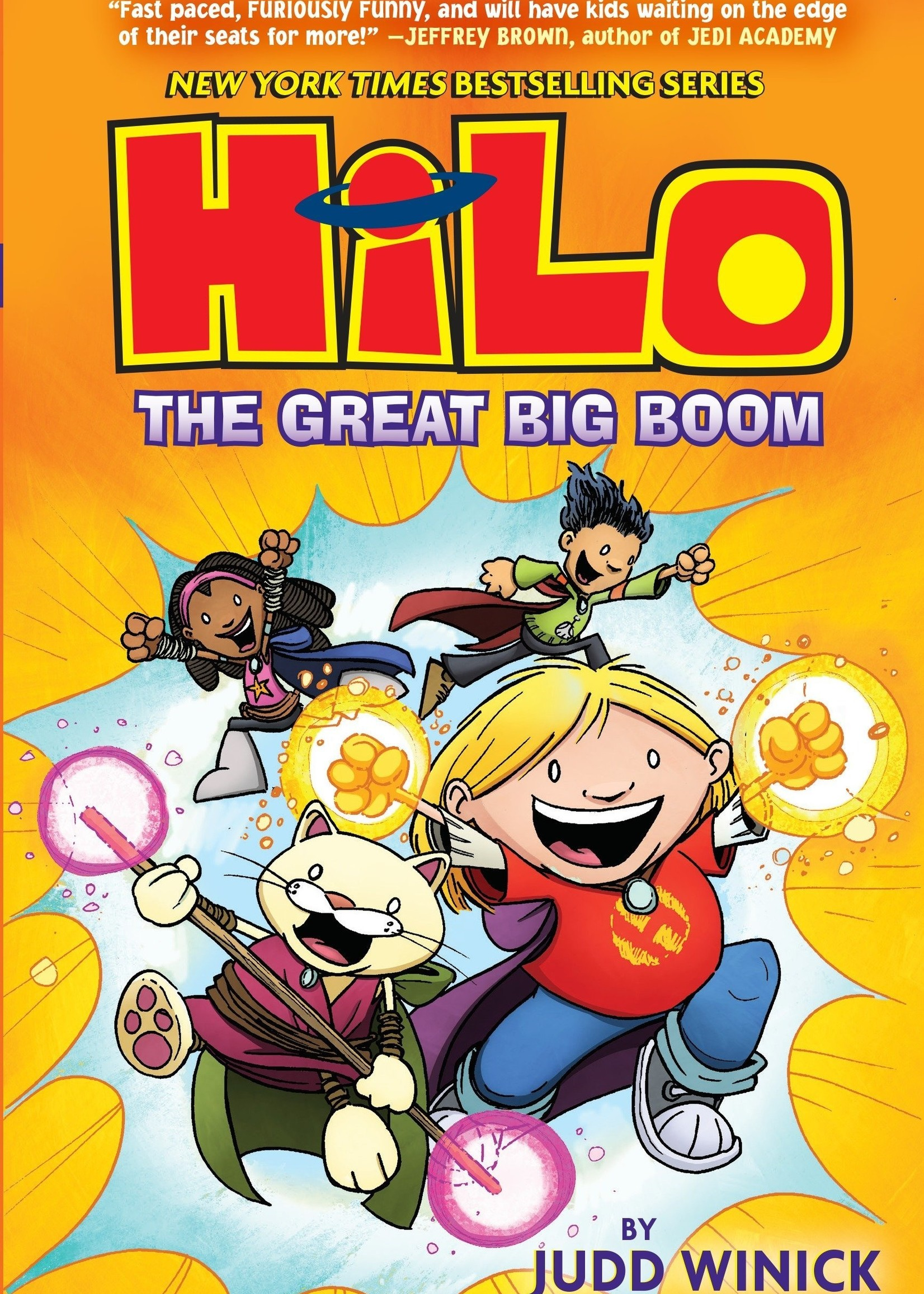 Hilo #03, The Great Big Boom Graphic Novel - Hardcover