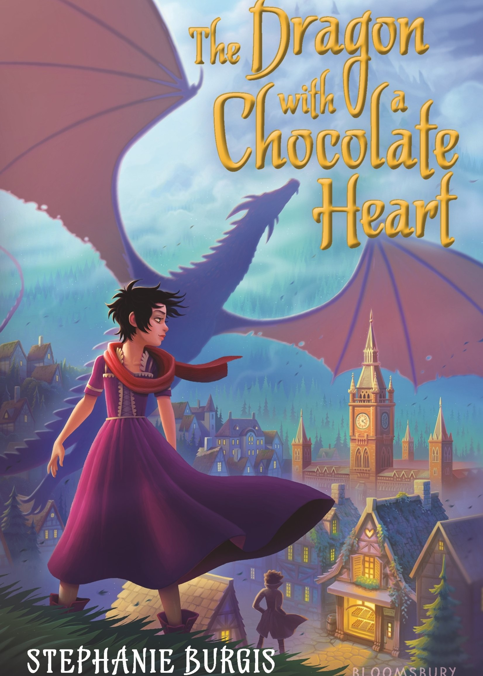 The Dragon with a Chocolate Heart - Paperback