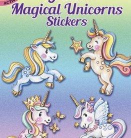 Glitter Magical Unicorns Stickers