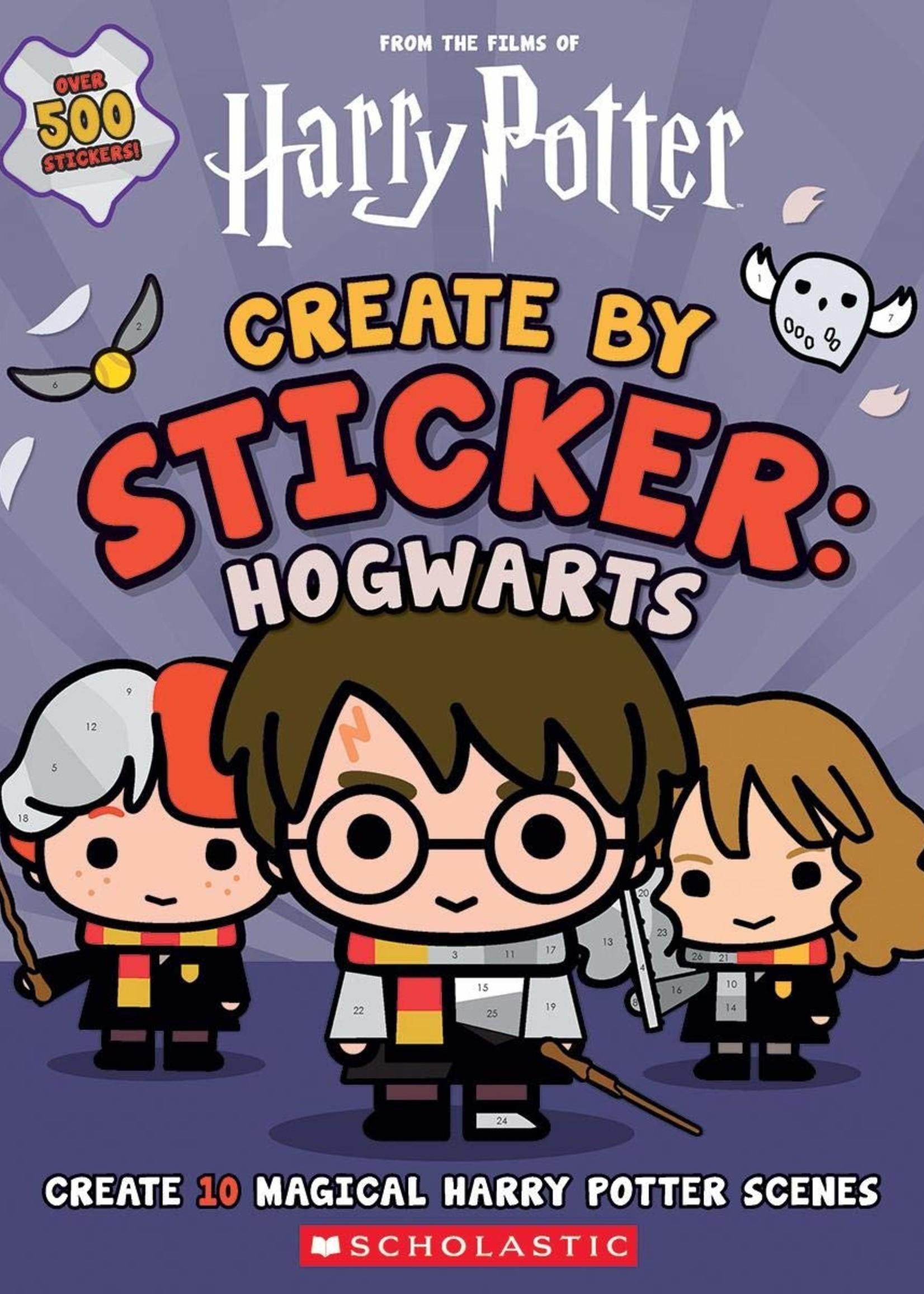 Harry Potter: Create by Sticker: Hogwarts - Paperback