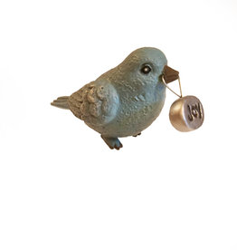 Little Bluebird Stone Charm