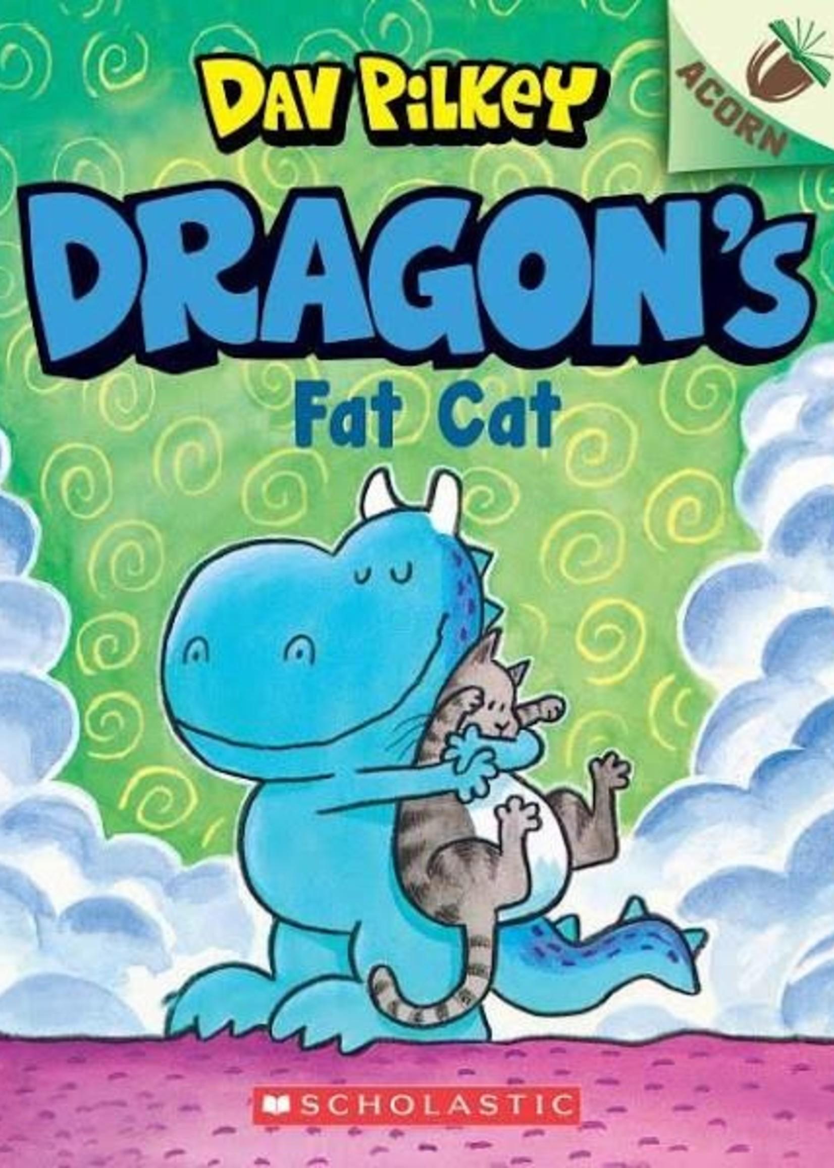 Dragon #02, Dragon's Fat Cat - Paperback