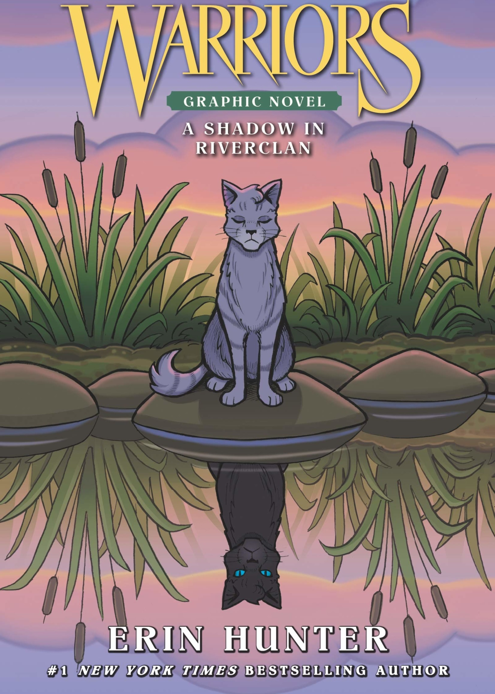 Warriors: A Shadow in Riverclan Graphic Novel - Paperback