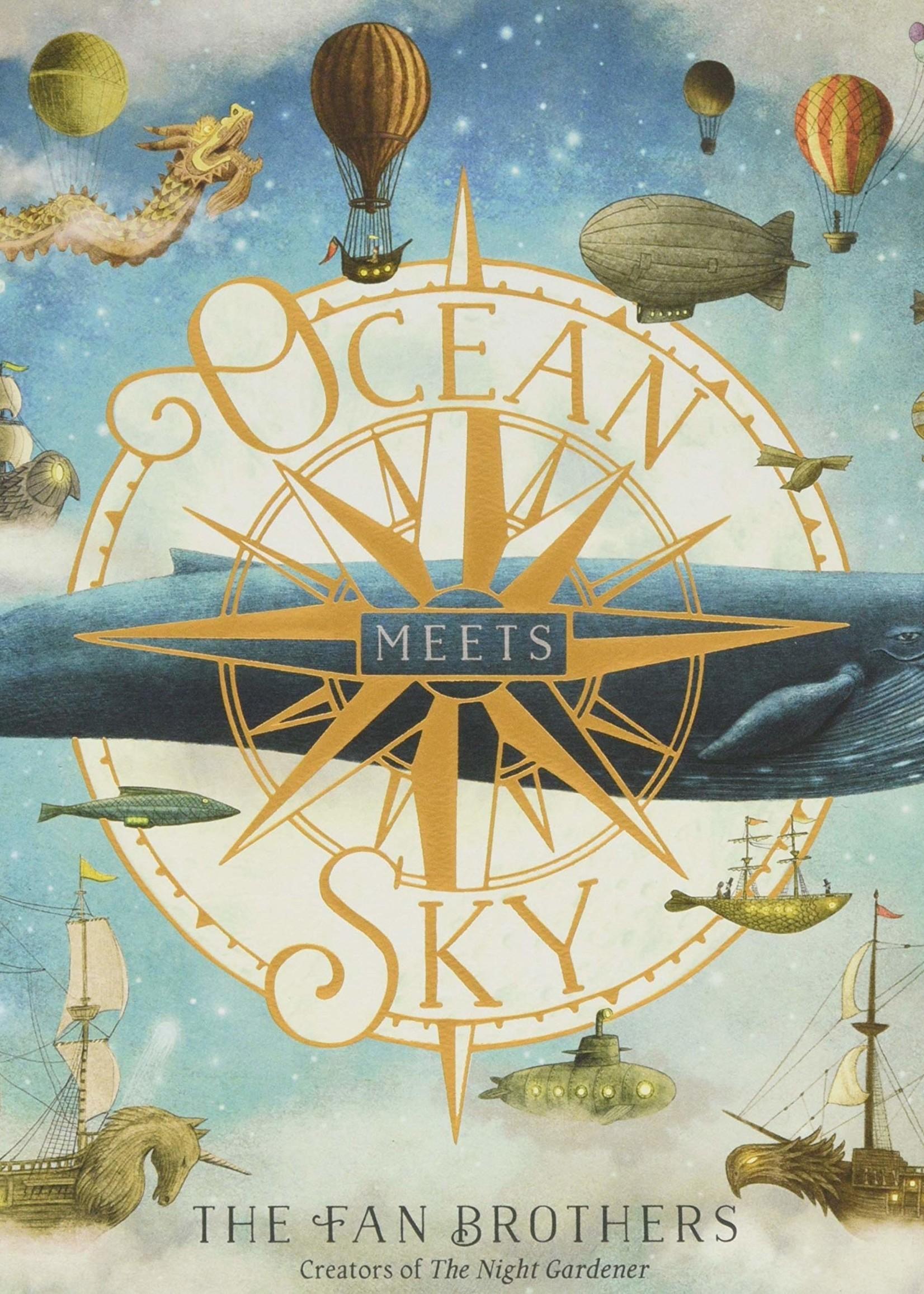 Ocean Meets Sky - Hardcover