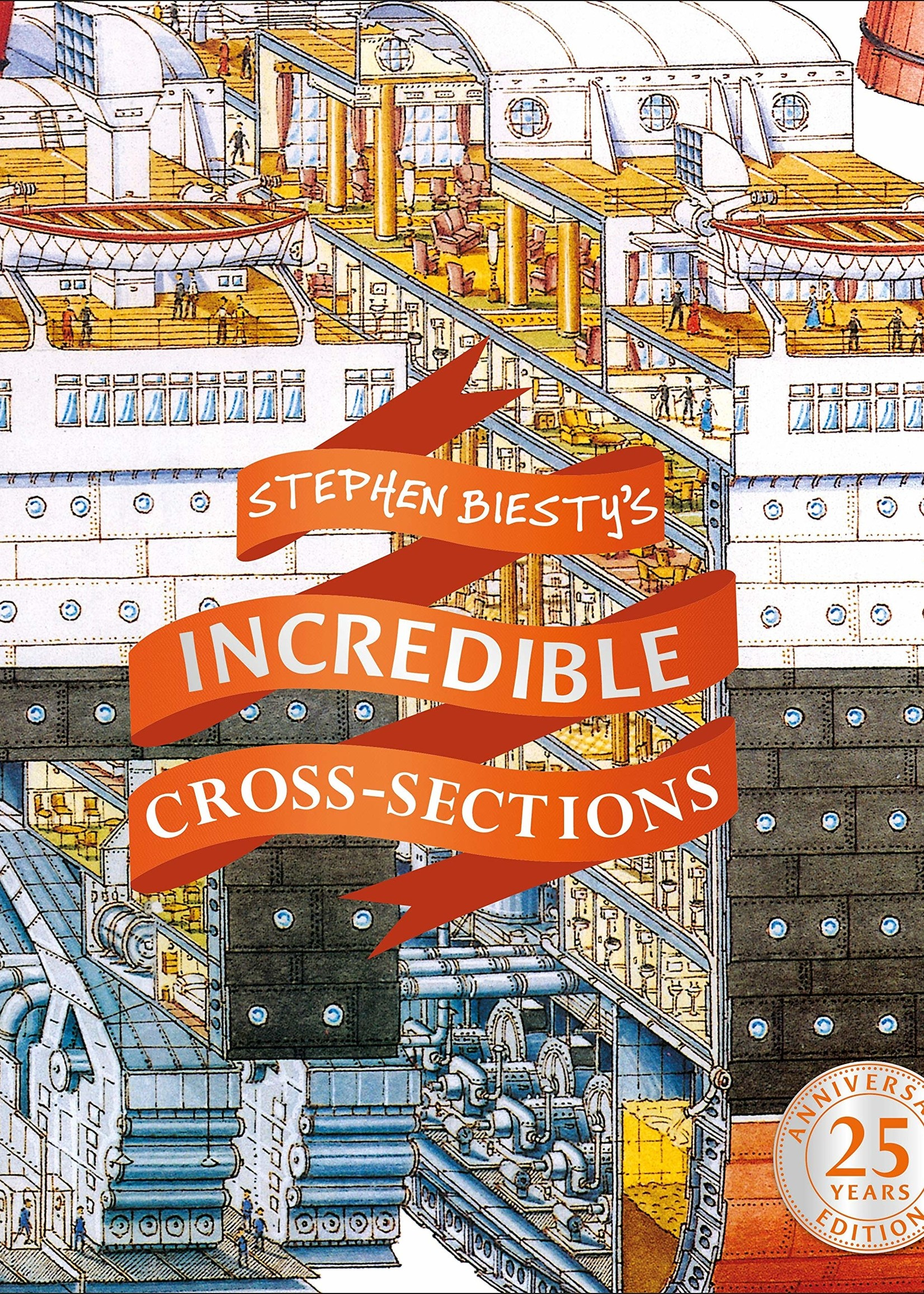 Stephen Biesty's Incredible Cross-Sections - Hardcover