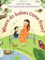 Usborne Where Do Babies Come From? Lift-the-flap - BB