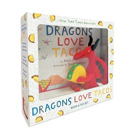 Dragons Love Tacos Book and Toy Set - Box