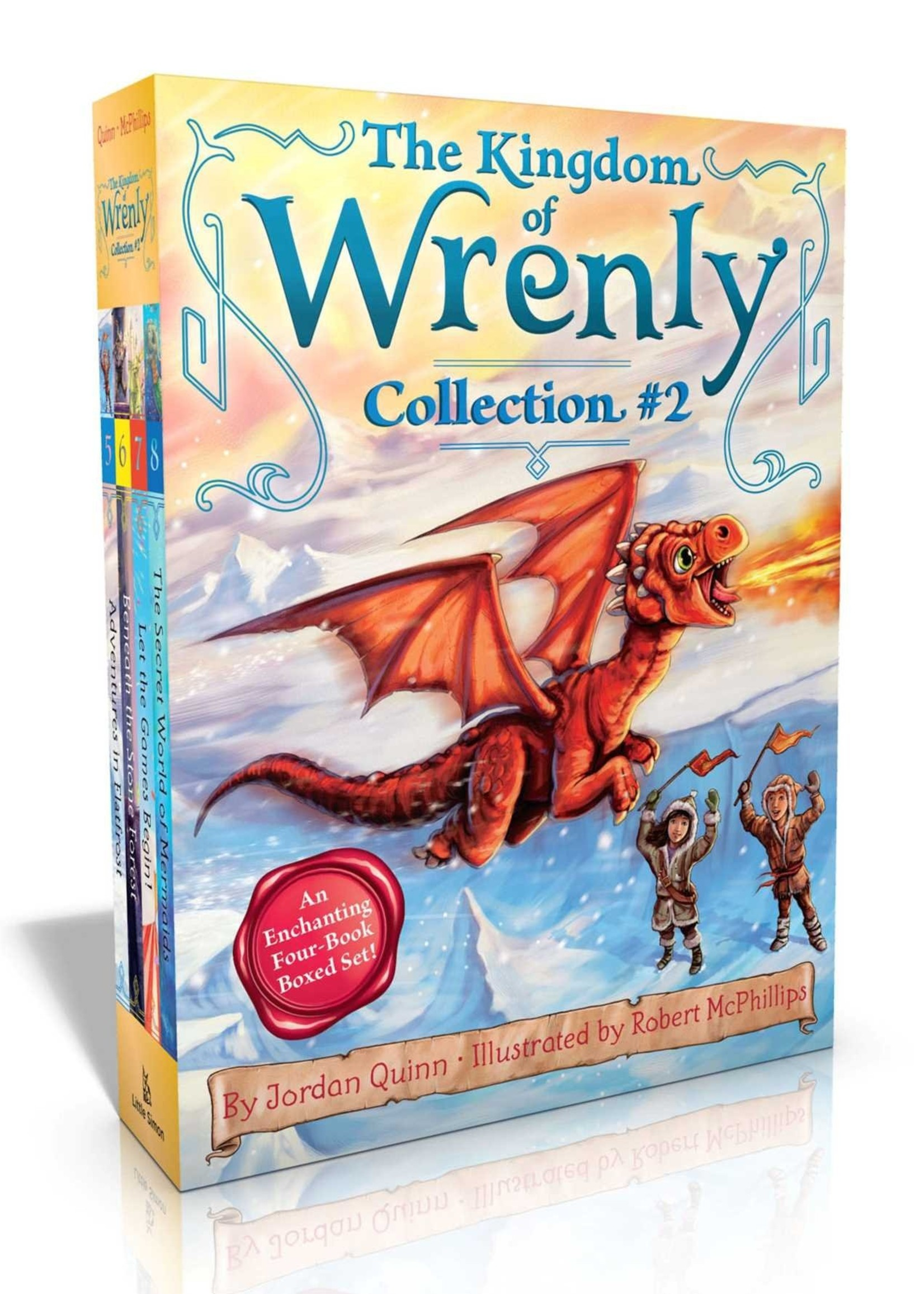 Kingdom of Wrenly Collection #02, Books 5-8, Paperback Set - Box