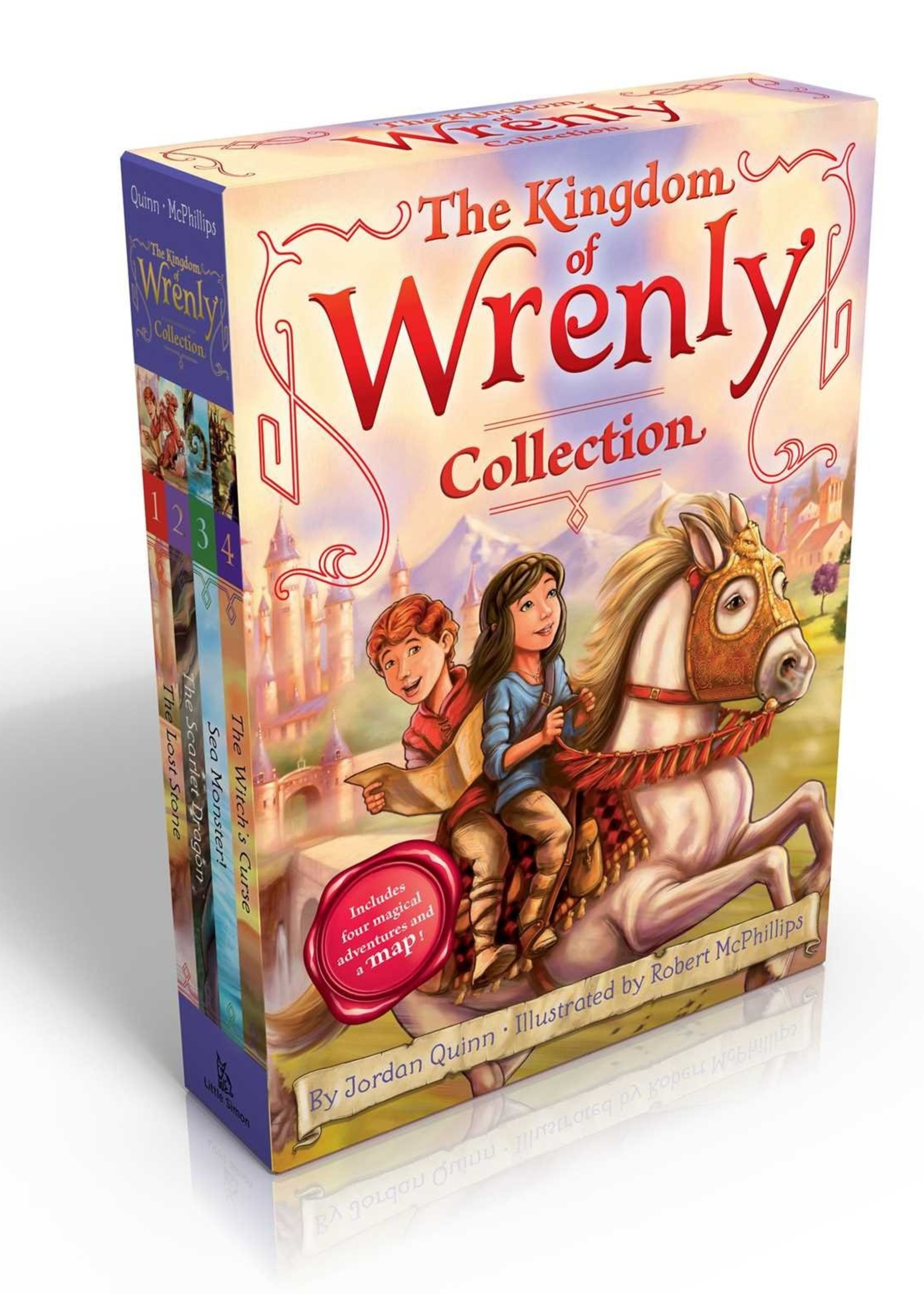 Kingdom of Wrenly Collection #01, Books 1-4, Paperback Set - Box