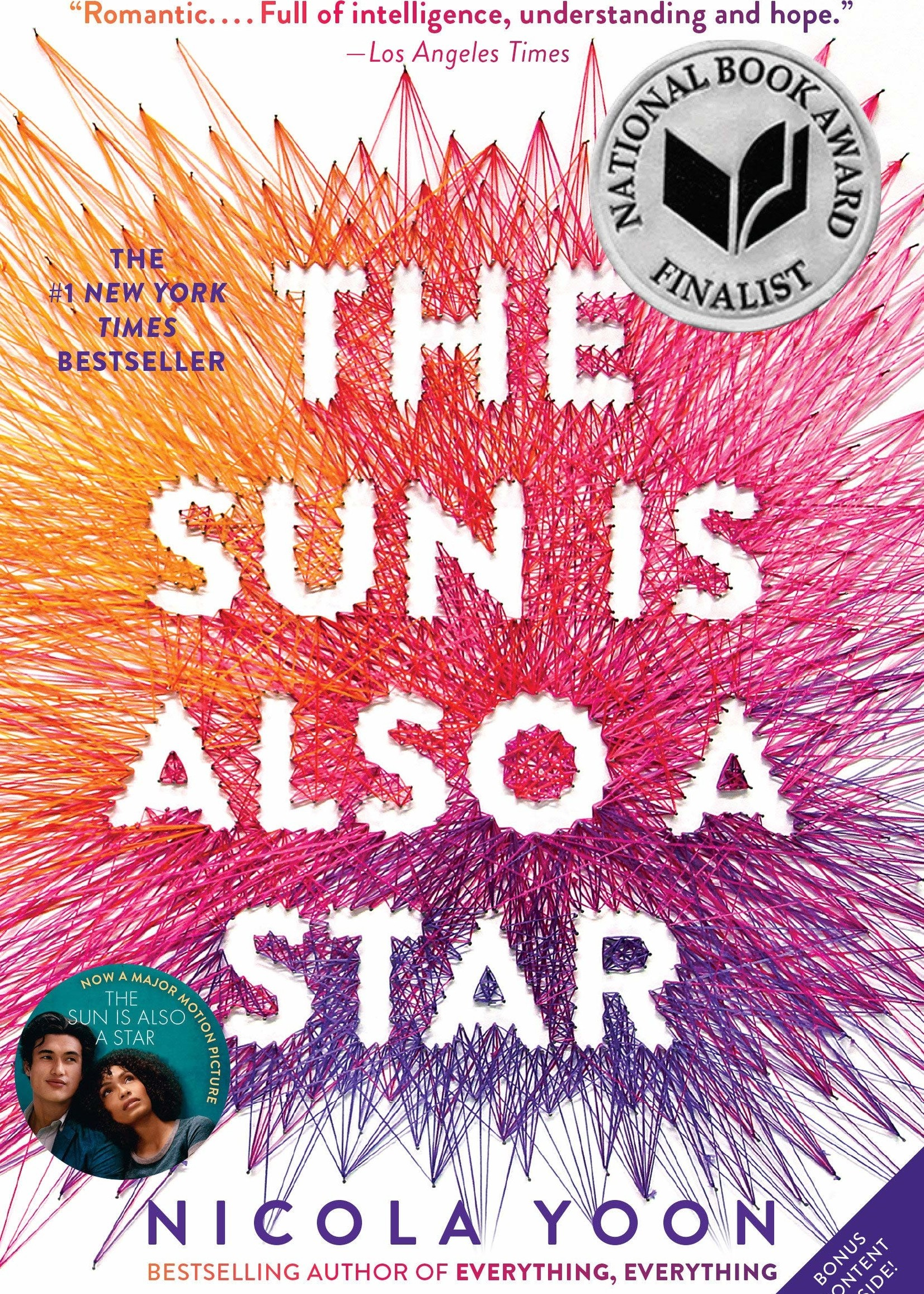 The Sun Is Also A Star - Paperback