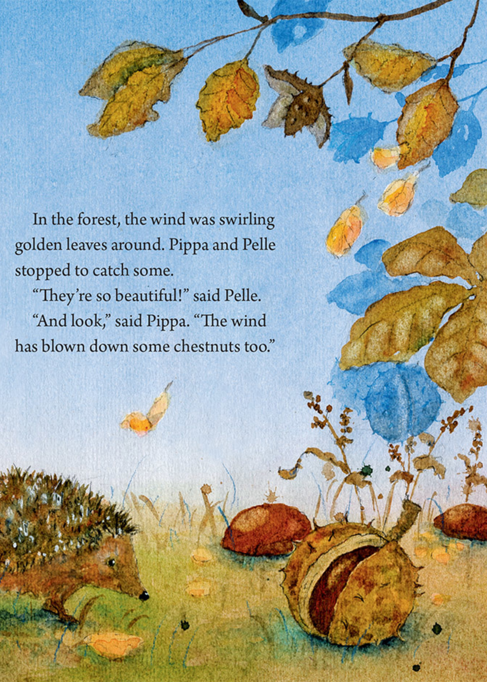 Pippa and Pelle in the Autumn Wind - Board Book