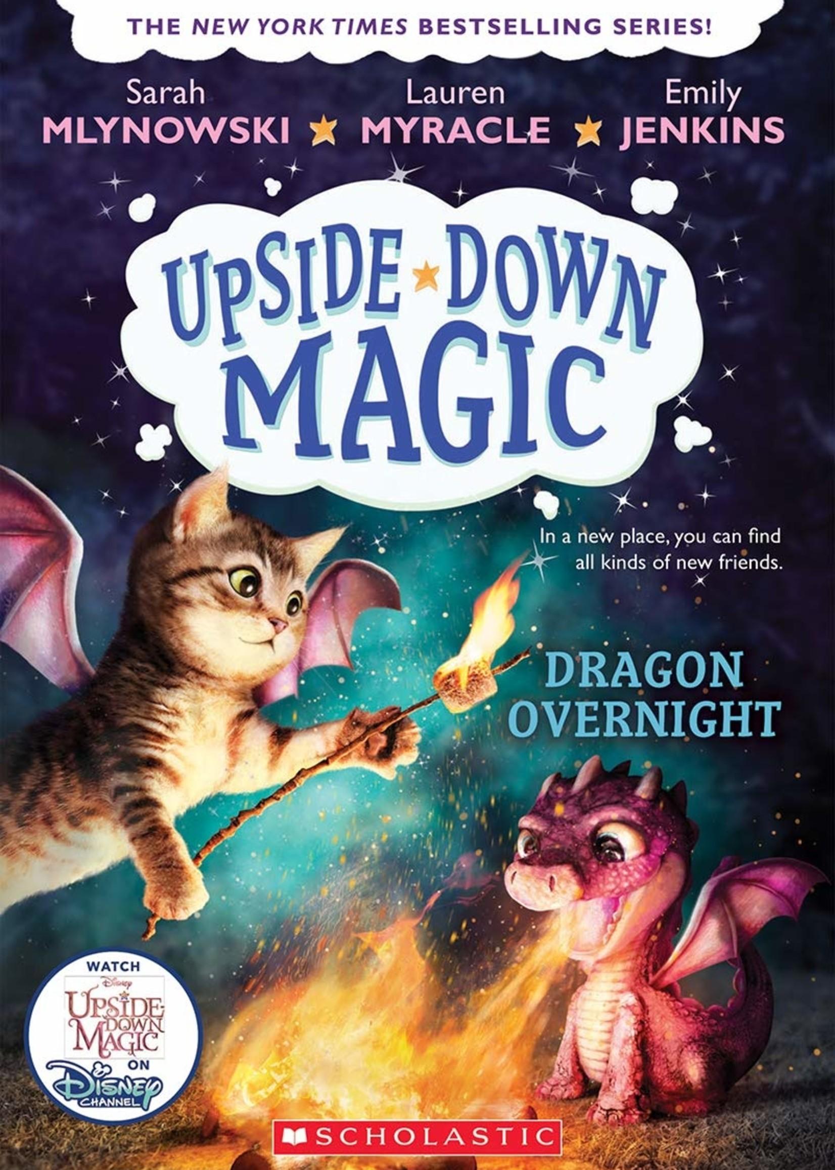 Upside-Down Magic #04, Dragon Overnight - Paperback