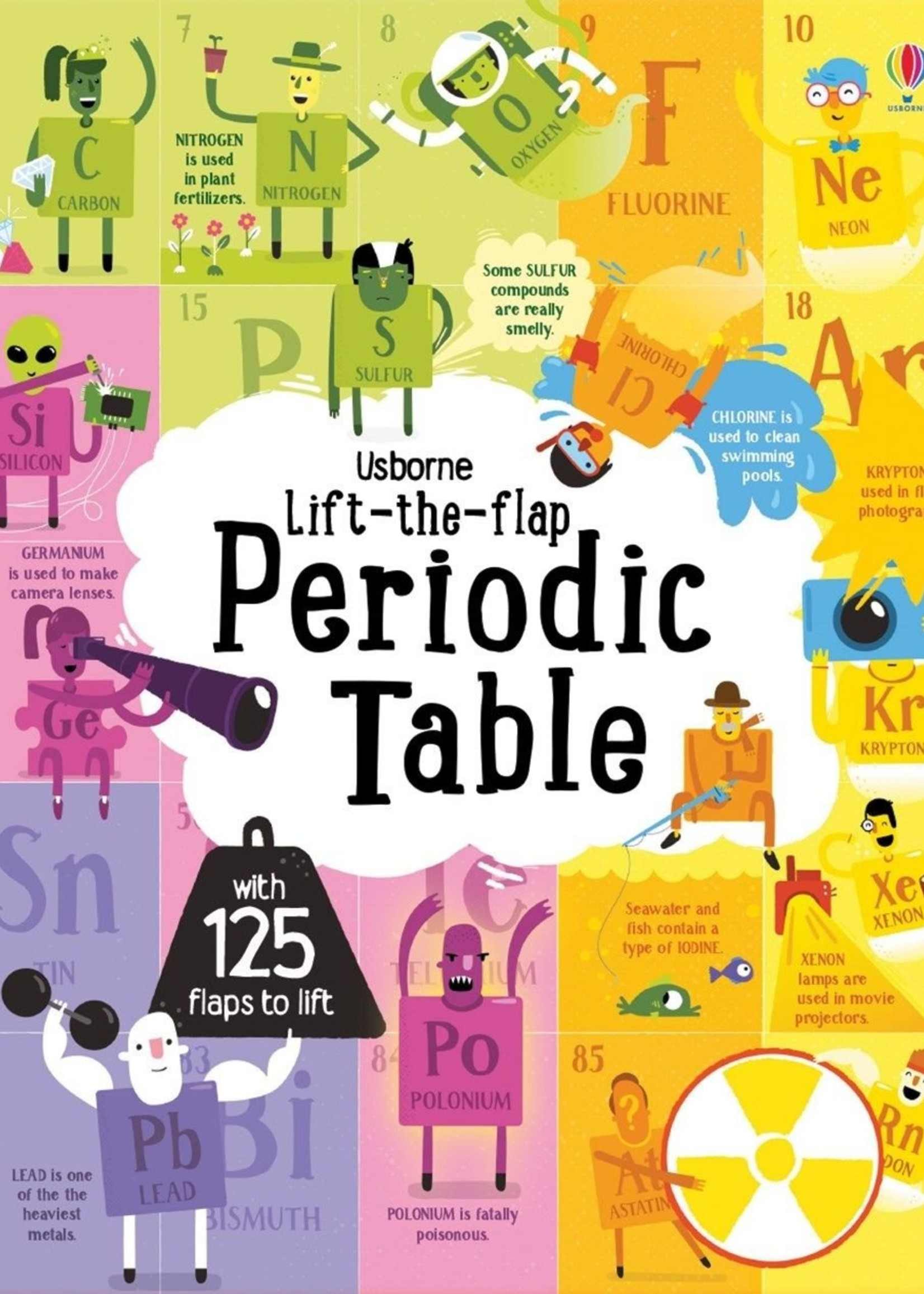 Periodic Tables, Lift-the-Flap - Board Book