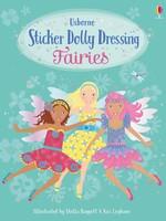Usborne Little Sticker Dolly Dressing Fairies - PB