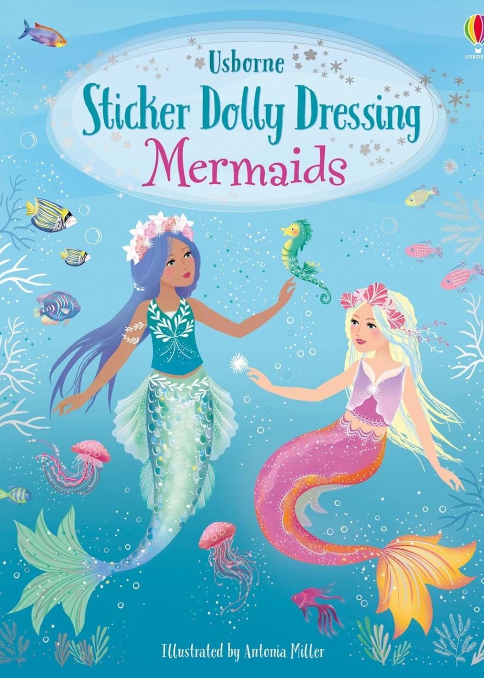 Usborne Little Sticker Dolly Dressing Mermaid - PB