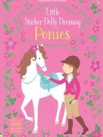 Usborne Little Sticker Dolly Dressing, Ponies - PB