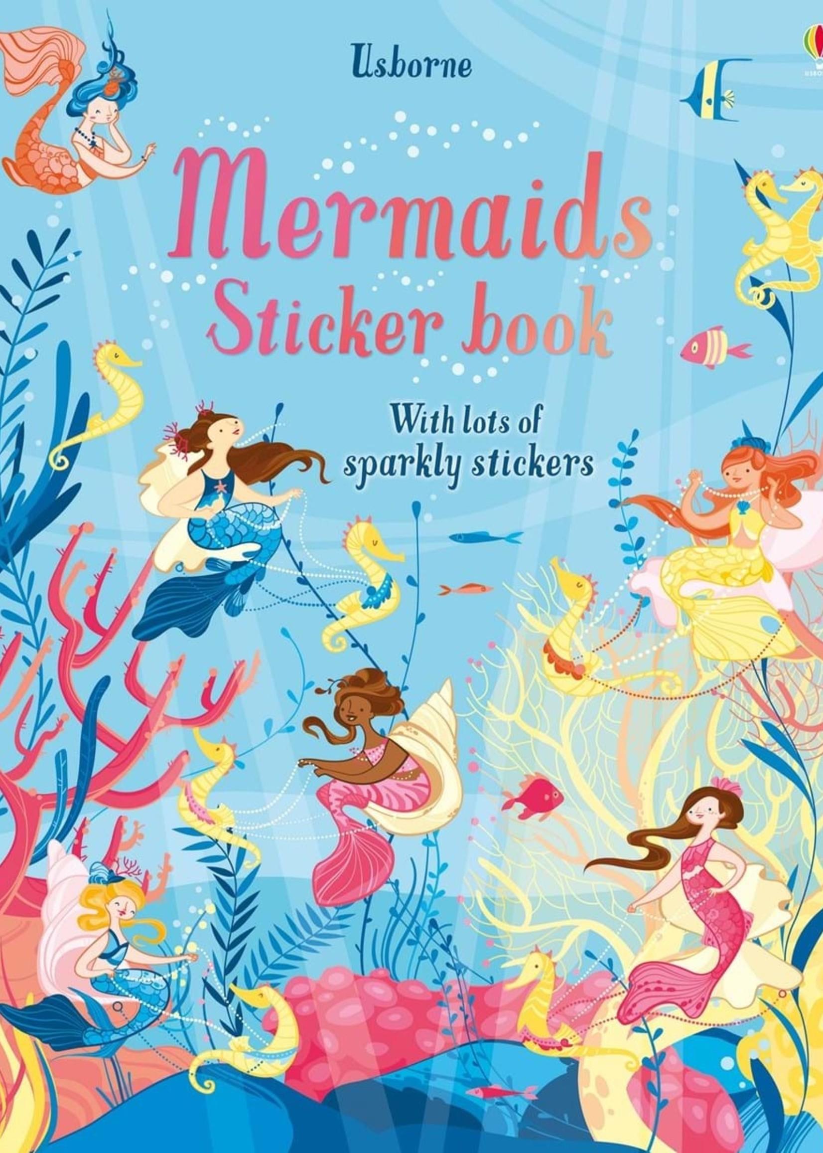 Usborne Mermaids Sticker Book - Large Paperback