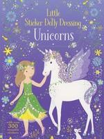 Usborne Little Sticker Dolly Dressing Unicorns - PB