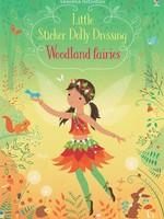 Usborne Little Sticker Dolly Dressing Woodland Fairies - PB