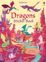 Usborne Dragons Sticker Book - PB