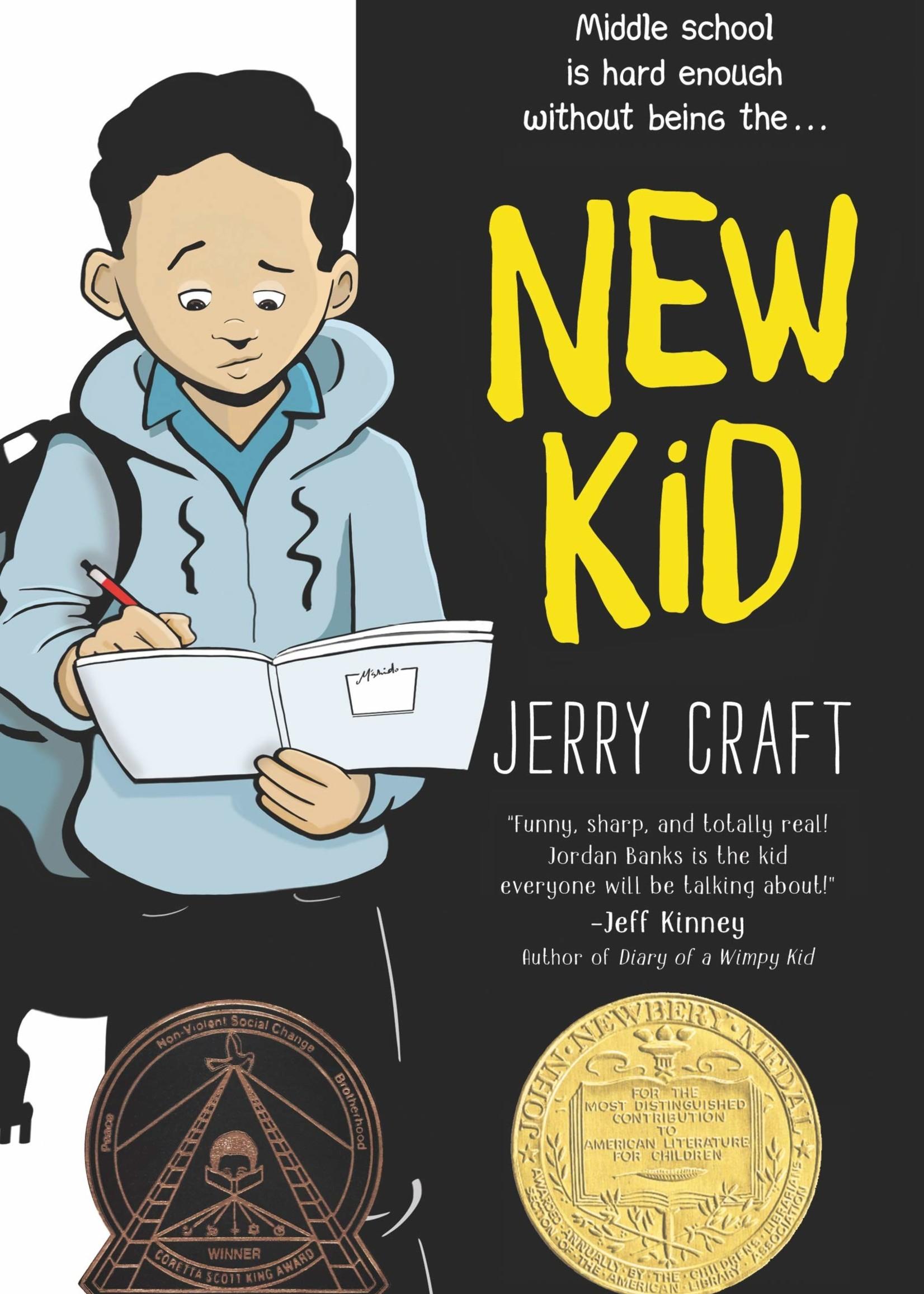 New Kid Graphic Novel - Paperback