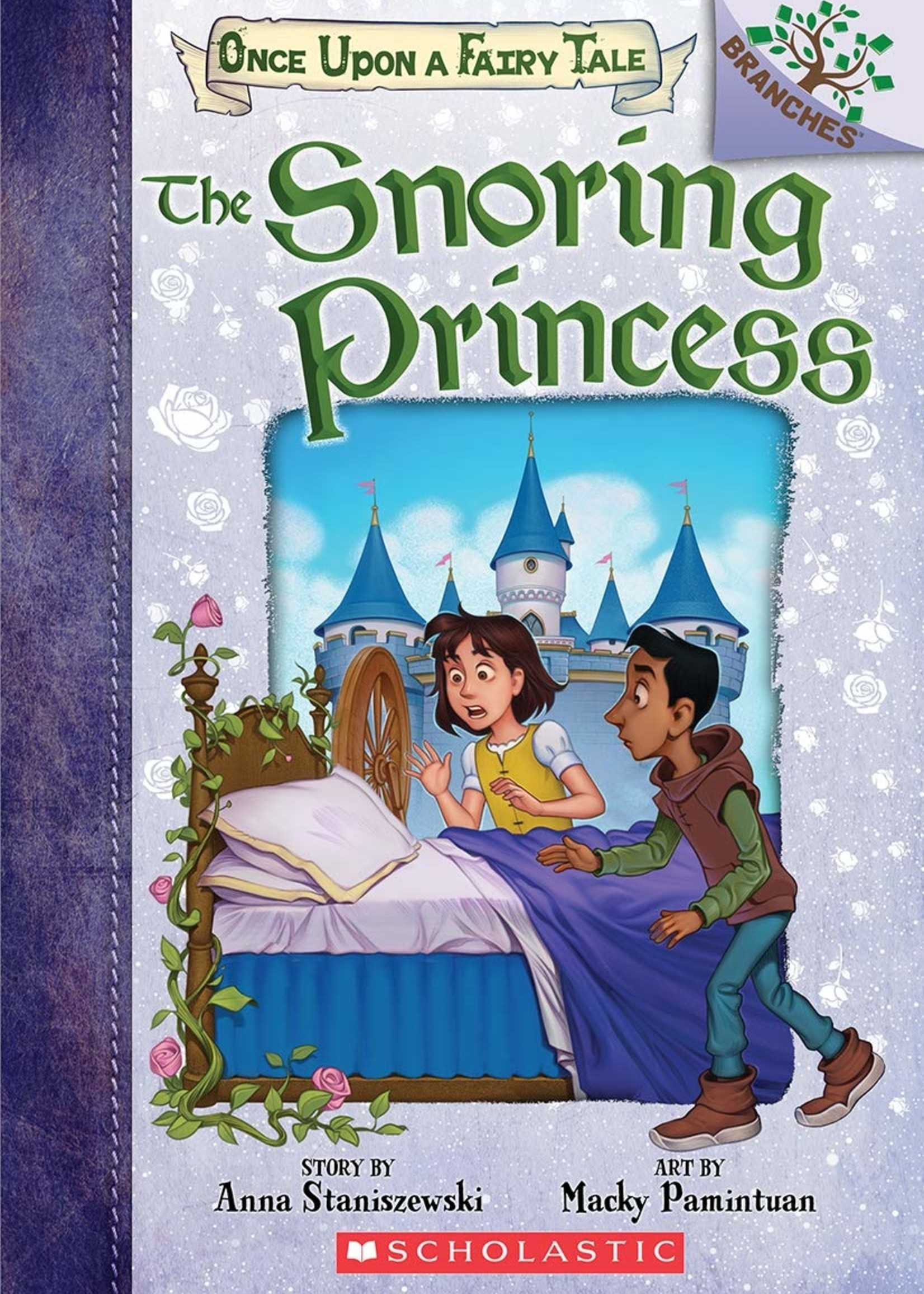 Once Upon a Fairy Tale #04, The Snoring Princess - Paperback