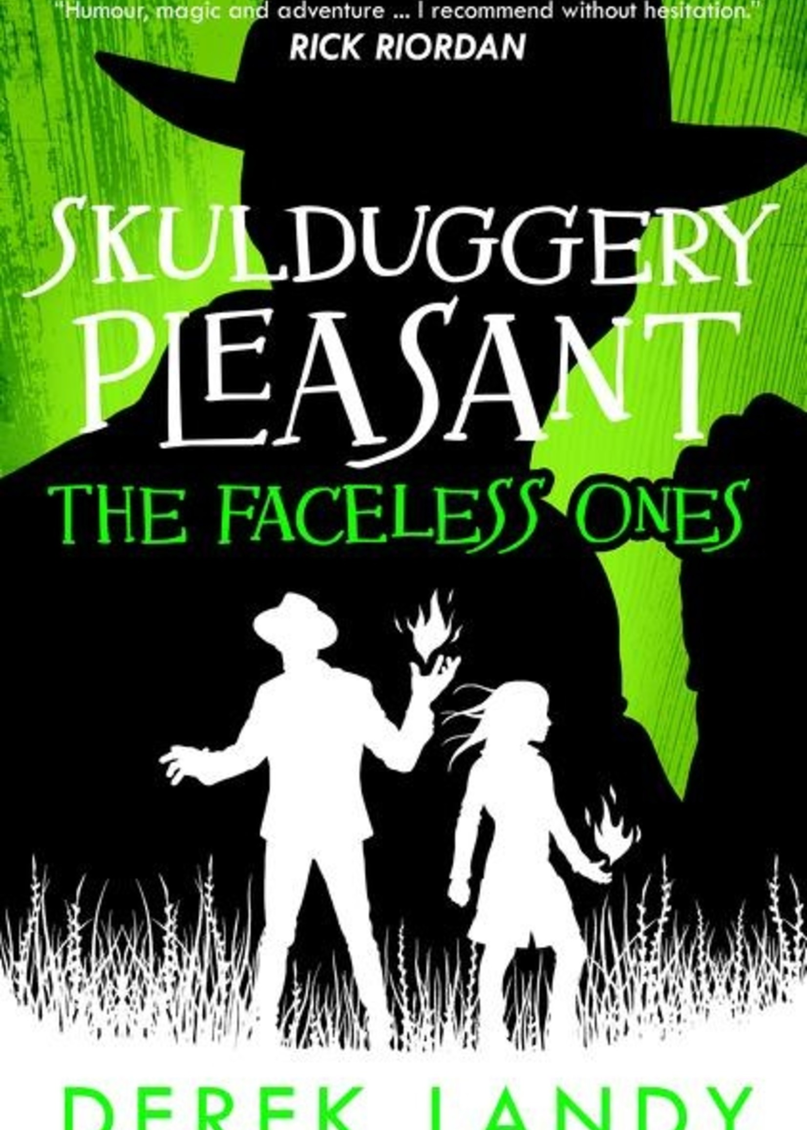Skulduggery Pleasant #03, The Faceless Ones - Paperback