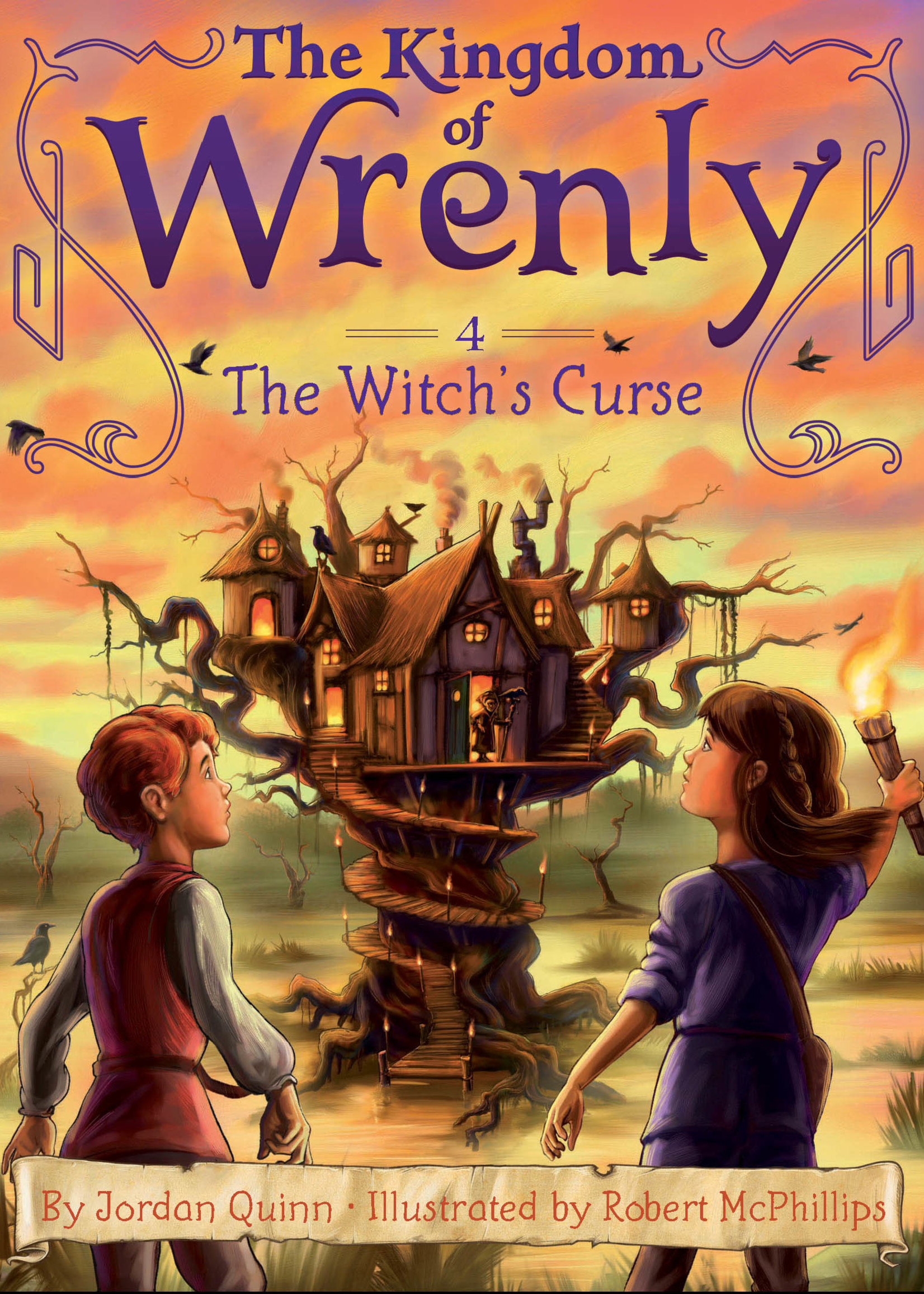 Kingdom of Wrenly #04, Witch's Curse - Paperback