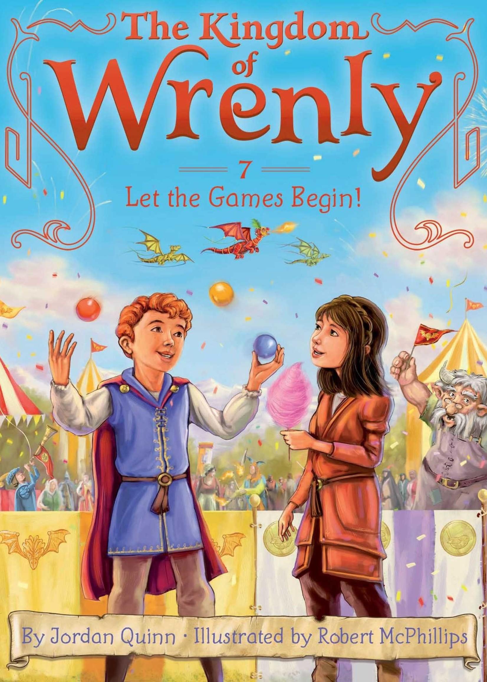 Kingdom of Wrenly #07, Let the Games Begin! - Paperback